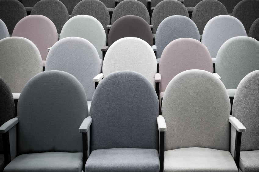 theatre style seating